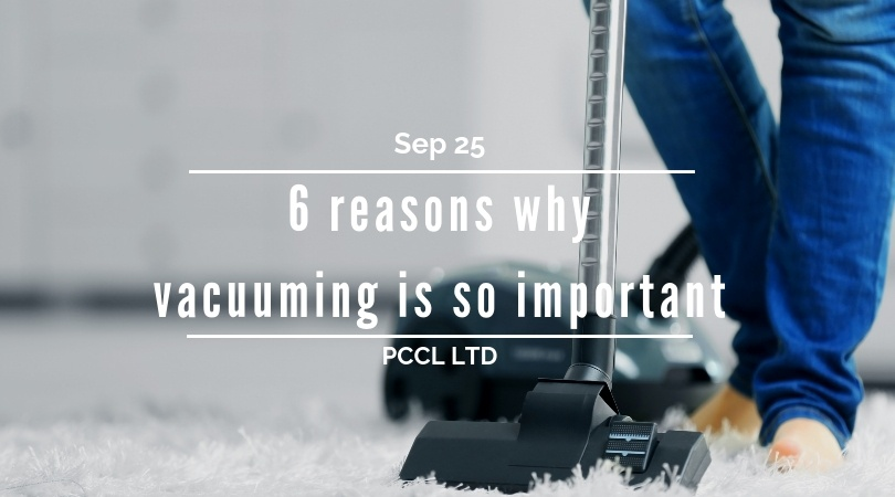 Why Vacuuming Is Important